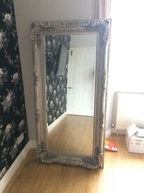 """Gallery """"Carved Louis Leaner Mirror"""" - Brand New (Unwanted New House Present)"""