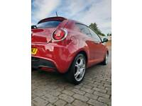 Alfa Mito 1.6 JTDm Veloce turbo diesel, 2009, red, leather, remapped, fully kitted