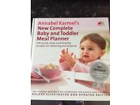 Annabel Karmel weaning meal planner book