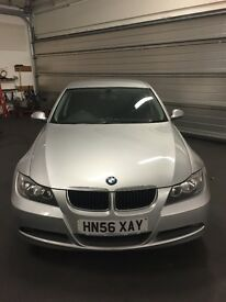 BMW 318 good runner, recently serviced, rear park sensors, MOT till Jan 2018 ,clean