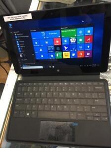 10.8 Dell tablet intel Atom 1.46ghz 2G/64G SSD win10 Pro