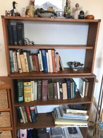 Bookcase shelving units