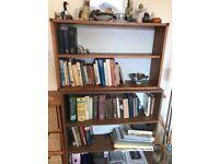 Bookcase shelving units