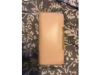 Ted baker nude leather purse
