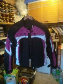 Ladies Thomas Taylor Nylon Motorcycle jacket