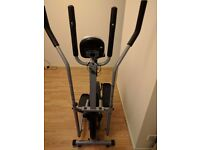 2 in 1 Elliptical Cross Trainer and Exercise Bike With Seat Cardio