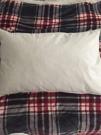 4 x duck feather and down pillows