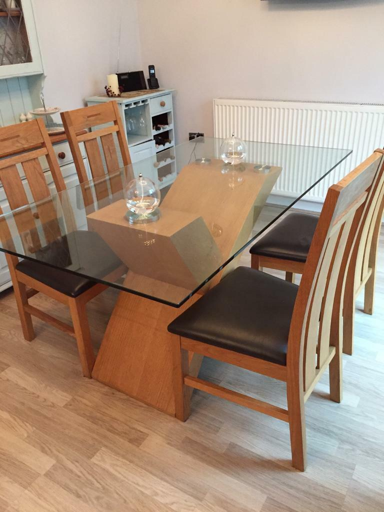 Dining Room Table And Six Chairs Gloucester