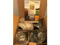 Cookworks nutri bullet 1000w 15 piece brand new
