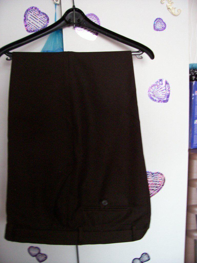 Mans Dark Brown Trouser Chums 42 waist