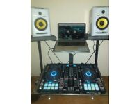 Pioneer ddj rr with laptop, rekordbox and stand near new!