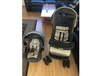 Stroller and infant carrier/ car seat- complete travel system