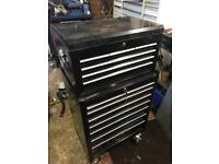 Laser Tools Tool Box - Top Box and Roll Cab