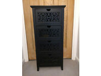 Wooden chest of drawers / storage unit