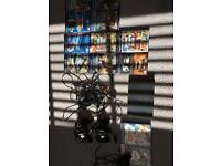 PlayStation 2 with eyetoy and 12 games