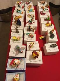 Disney Christmas ornaments (new)