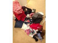 Massive bundle of clothes - school uniform, boys, girls, shoes, ladies clothes size 8/10