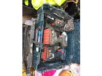 Bosch 18v impact driver combi drill