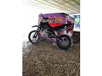 stomp yx140 crf70 big wheel! 20hp engine !