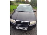 Black skoda fabia 1.9tdi october 2002