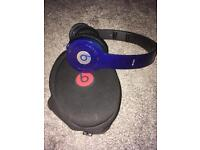Beats solo HD blue
