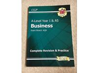 CGP AQA A-Level Business Year 1 Sept 2015 onwards