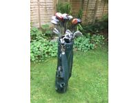 Vintage Golf set in Dunlop bag