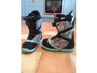 Womens Burton Snowboard Boots size 5