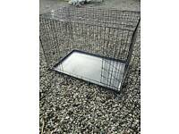 Large Dog Puppy Cage Crate