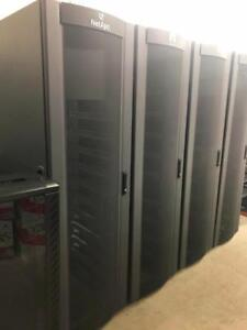 IBM, NETAPP SERVER RACKS SERVER CABINETS, DVR MEDIA CABINETS WALL MOUNTABLE, 6U, 12U, 18U ,21U, 24U,  42U, SERVER SHELF