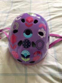 Micro Scooter Floral Dot Helmet Small Unused