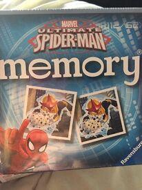 Spider-Man memory game