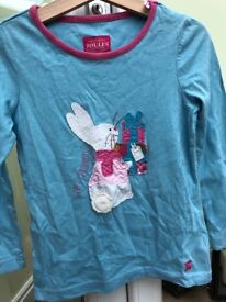 Joules girls top age 4