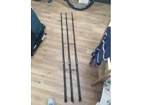3x free spirit e class gold customised rods!