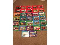 Large collection of vintage Thomas the Tank Engine books from the railway series