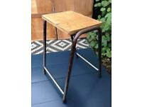 Vintage stool / science lab stool school