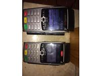 2x Iwl250 card payment machine & chargers