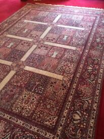 Large pure wool rug