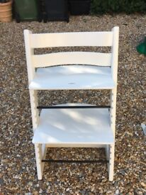 Stokke High Chair in white