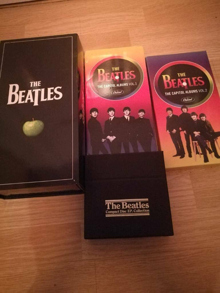 BEATLES BOX SET + FREE BOOKS AND DVDS