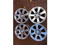 "Mercedes S Class Genuine 17"" Alloy Wheels W221 A2214010202 8J 5X112"