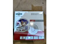 White Petsafe Petporte Smart Flap Microchip Cat Flap