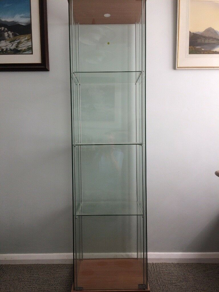 Glass Display Cabinet Ikea Detolf In Carlisle Cumbria Gumtree