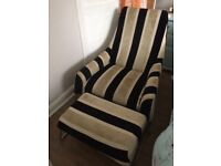 Designer chair and foorstool