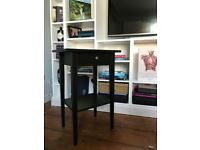 Black Ikea Bedside Table - Barely Used