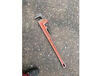 Ridgid pipe wrench Stilsons