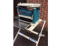 Makita bench thicknesser