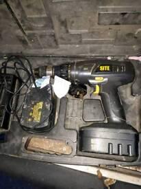 18v site cordless drill