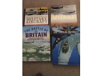 Bundle of Four Hardback Books Relating To Military Aircraft.