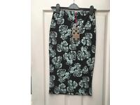 Brand new with tags, boohoo midi pencil skirt. Size 8/10